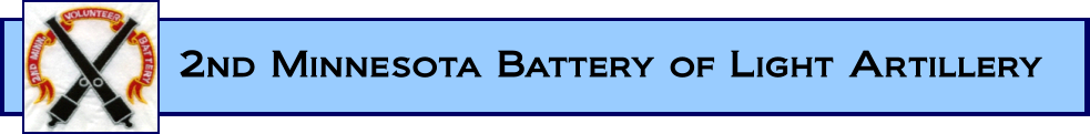 2nd Minnesota Battery of Light Artillery Logo