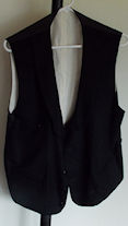 Men's Black Vest Thumb Nail